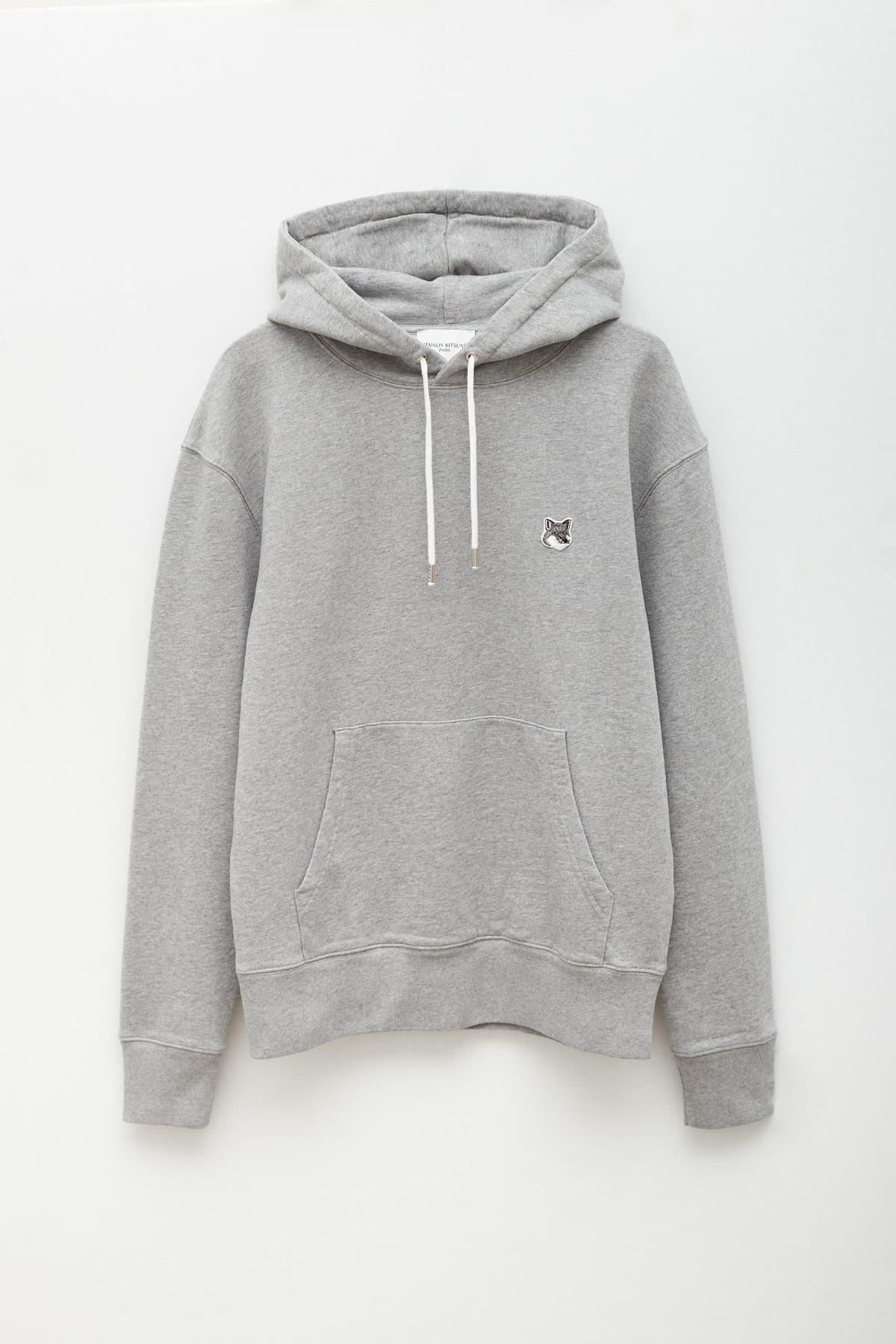 Shop Aries Blue Multi Oversized Fleece Sweat