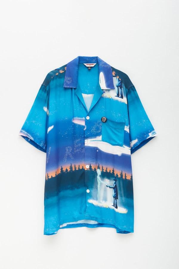 Shop CMMN SWDN Black Tyrone Hoodie Sweatshirt