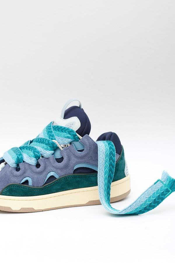 Shop Acne Studios Optic White Extorr Logo Rib T-Shirt