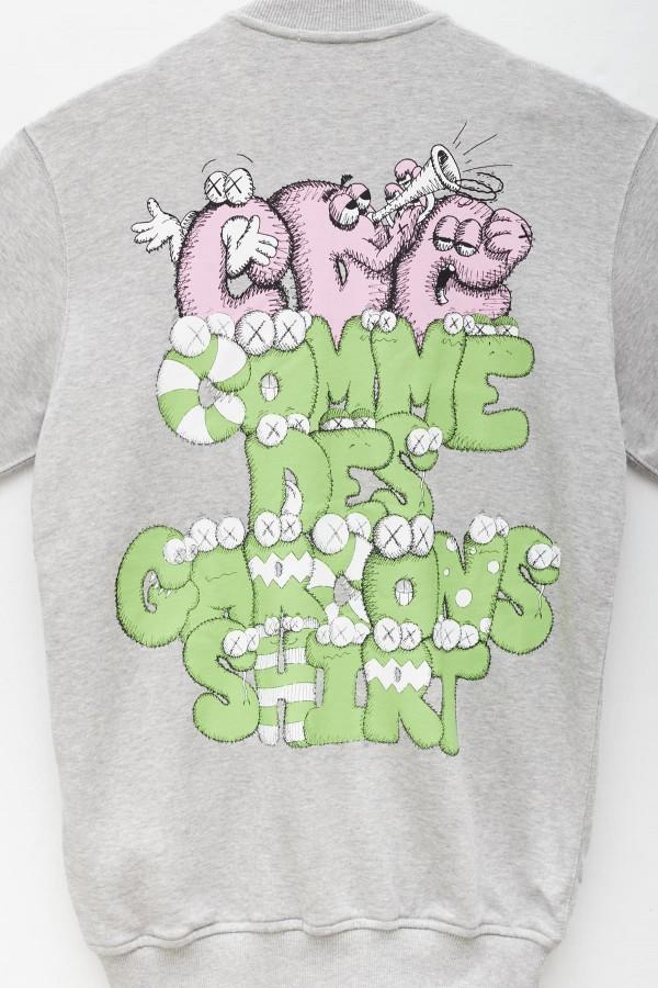 Shop Sunnei Grey Striped Wallet
