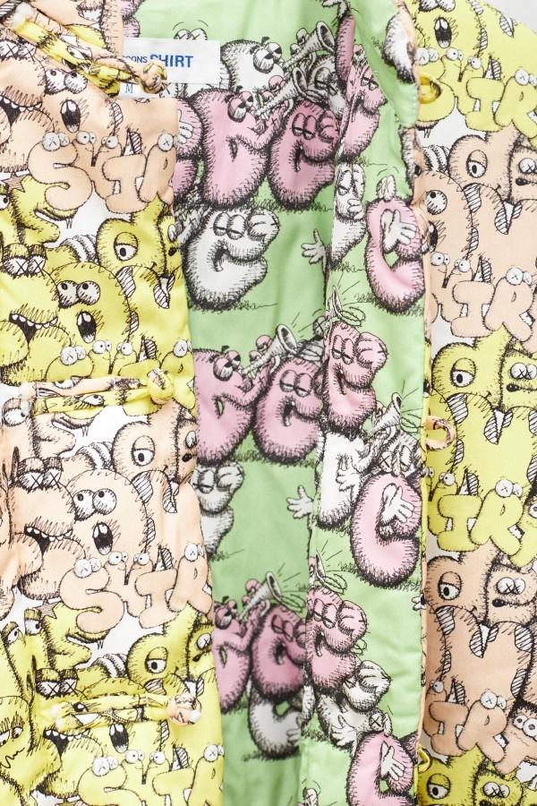 Shop Comme Des Garcons Play Blue Hoodie P1T174