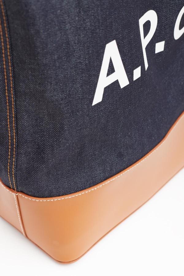 Shop Acne Studios Lavender Orfeo Canvas Down Jacket