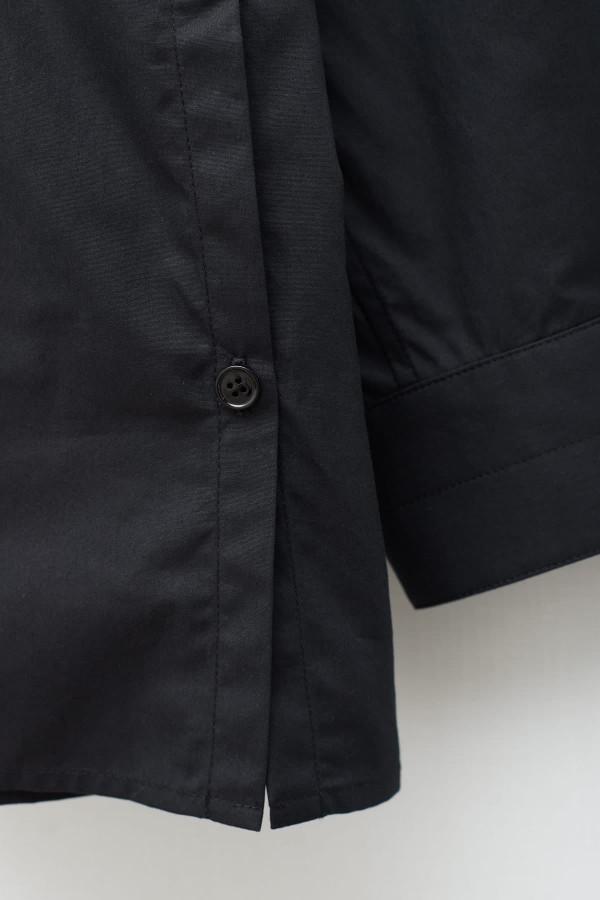 Shop Comme Des Garcons Navy Knitwear W27505