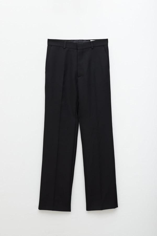 Shop Acne Studios Black Odion Half Zip Jacket