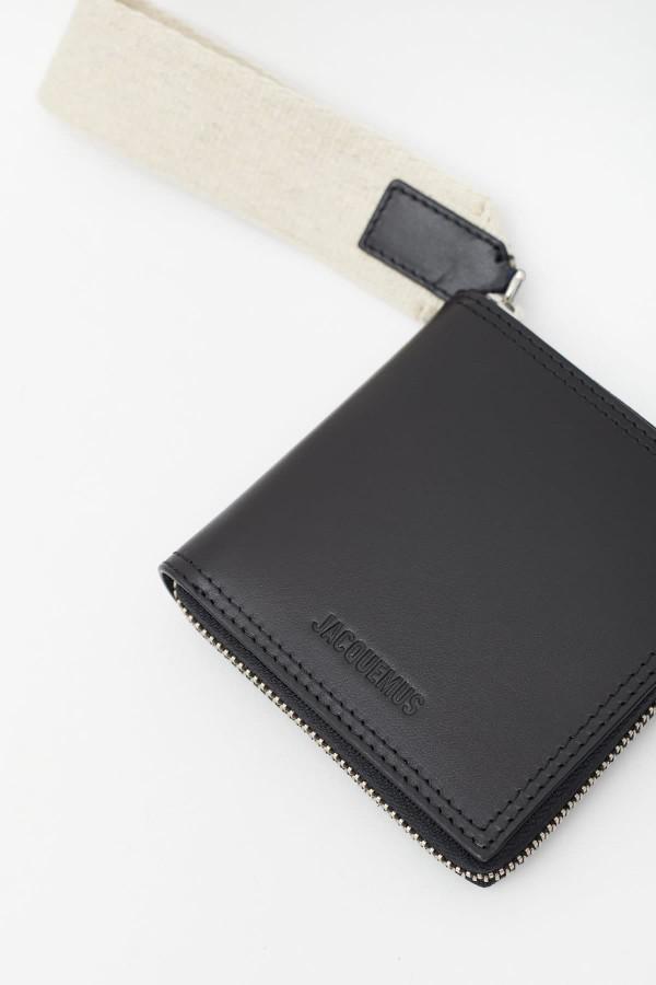 Shop CMMN SWDN Black Tape Buck Trouser
