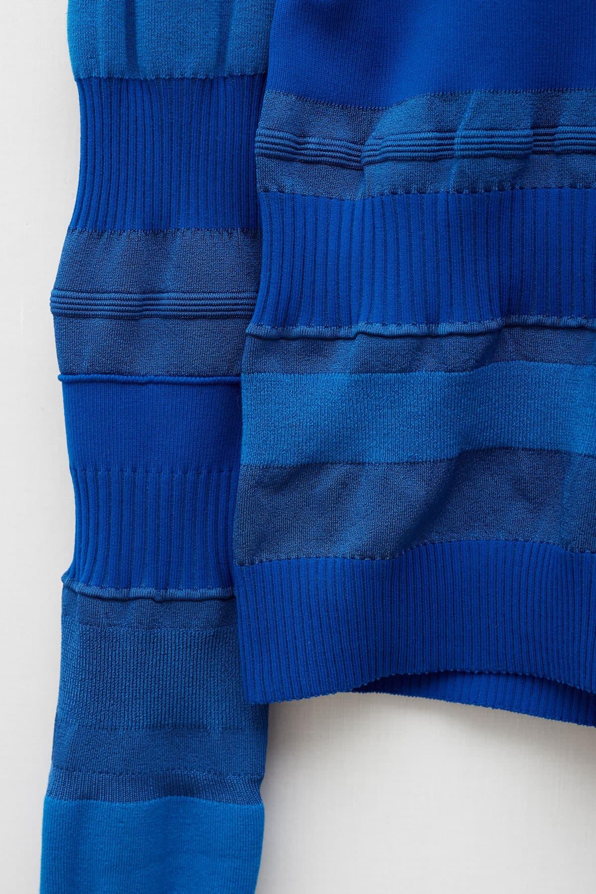 Shop Comme Des Garcons Navy Short Trouser S27149
