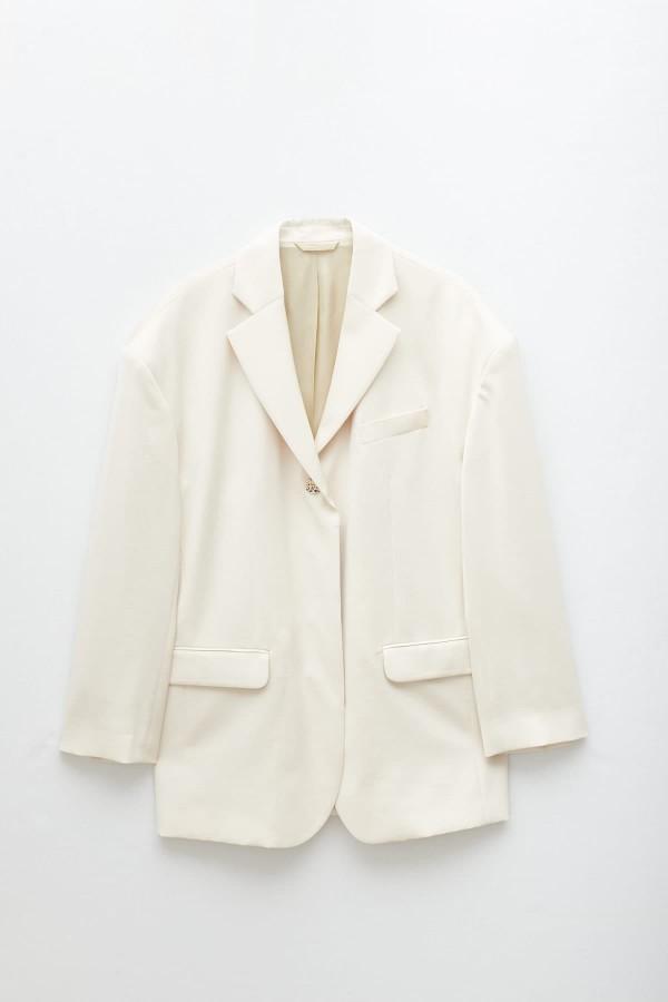 Shop Comme Des Garcons Play White T-Shirt P1T108