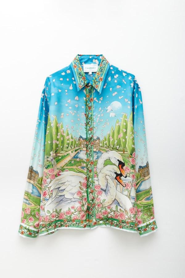 Shop Heron Preston Red Camo Sweat Pants