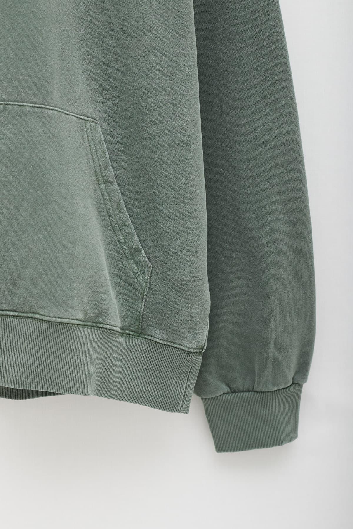 Shop Comme Des Garcons Grey Burgundy S28120 LS T-Shirt