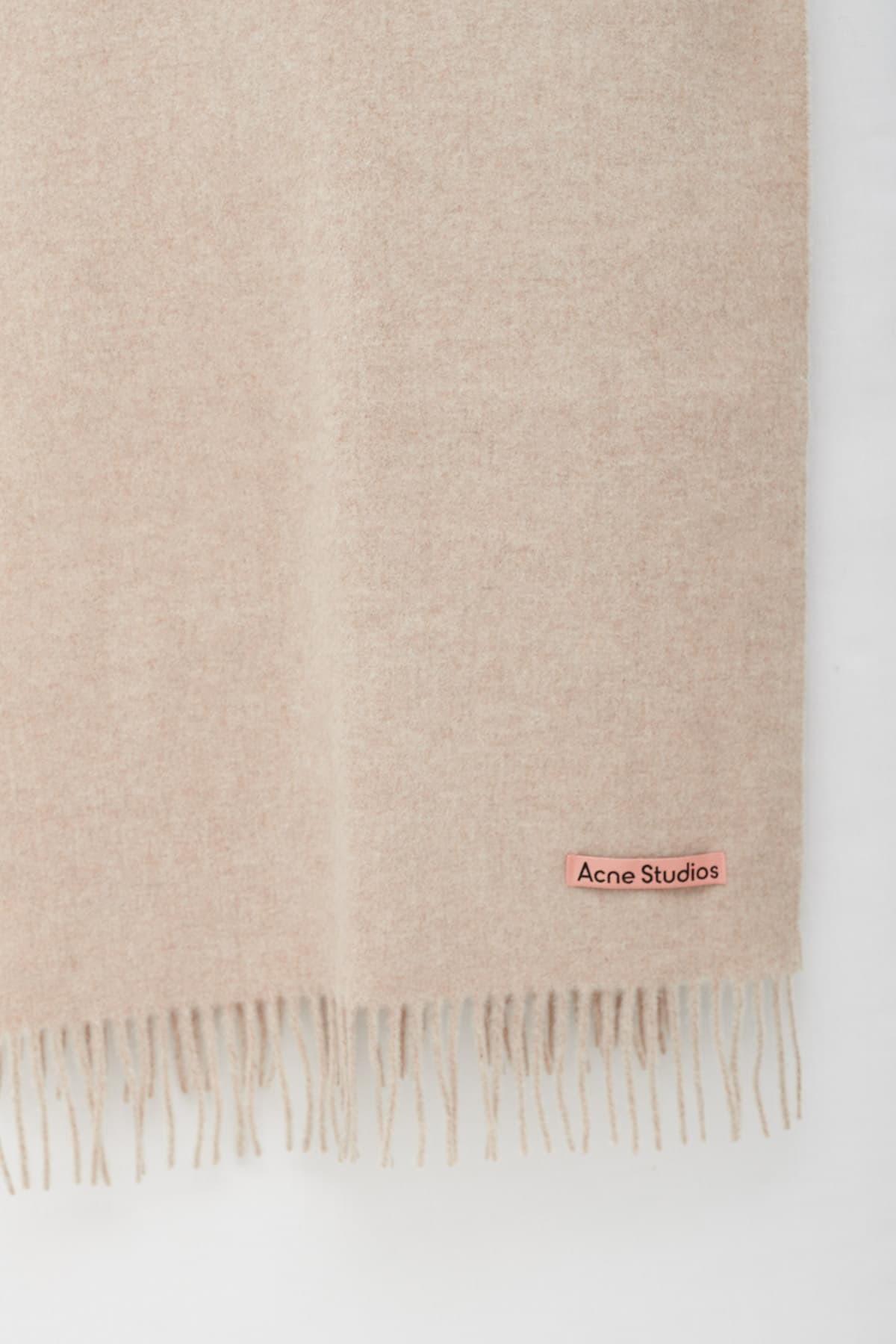 Shop Acne Studios Cold Grey Extorr Logo Rib T-Shirt