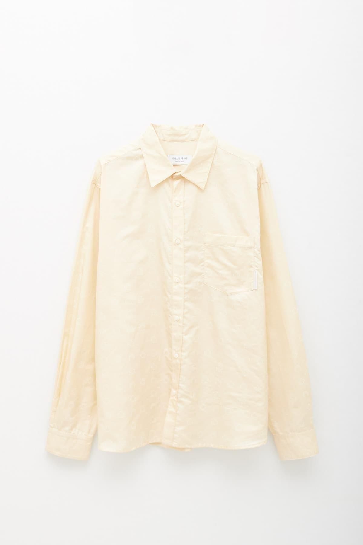 Shop Maison Kitsuné White Fox Head Classic T-Shirt