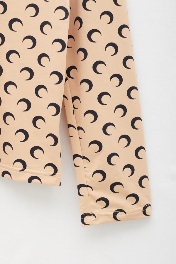 Shop Sunnei Beige Padded Shirt