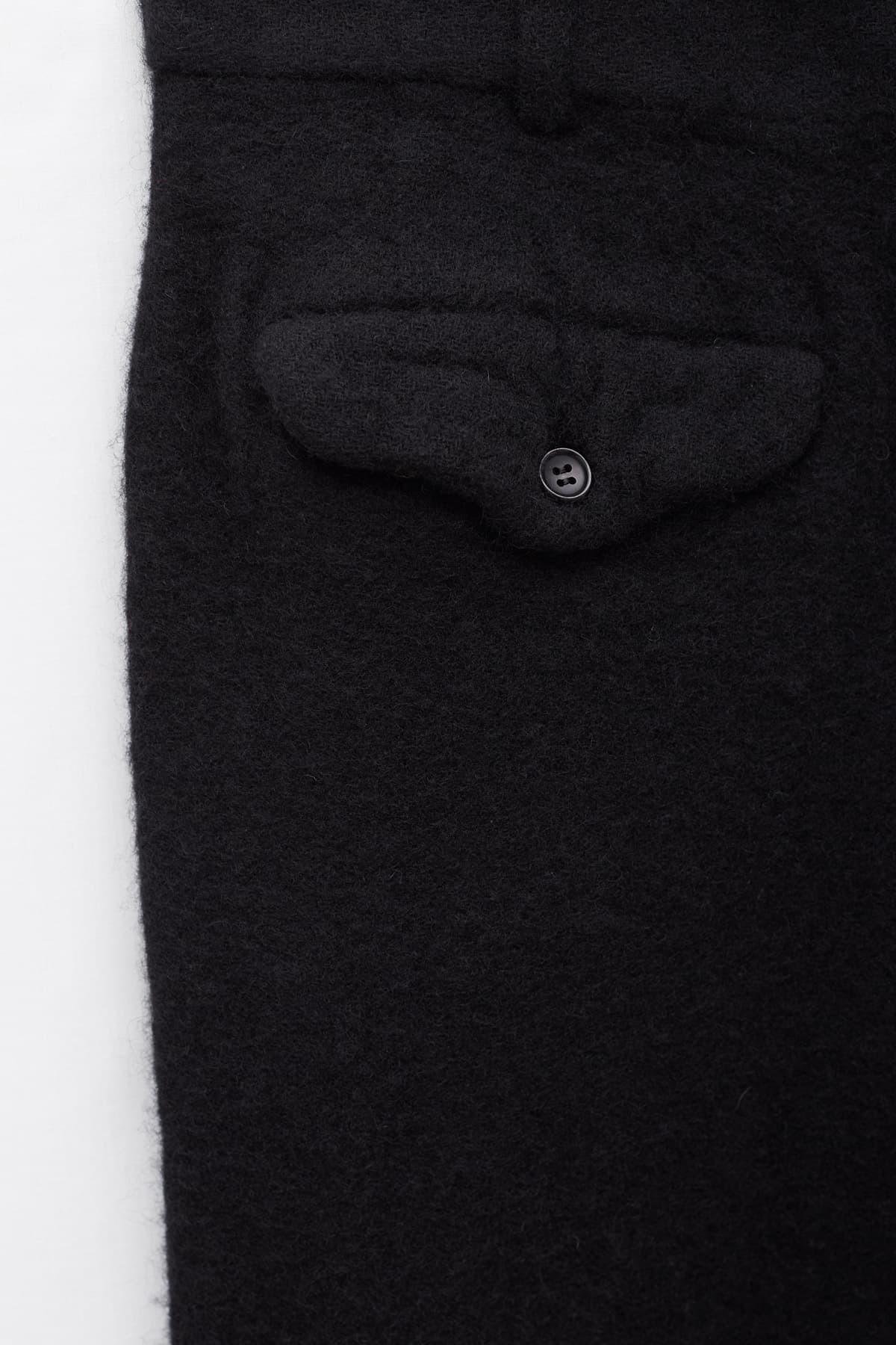 Shop Aries Black Zip Tailored Jacket