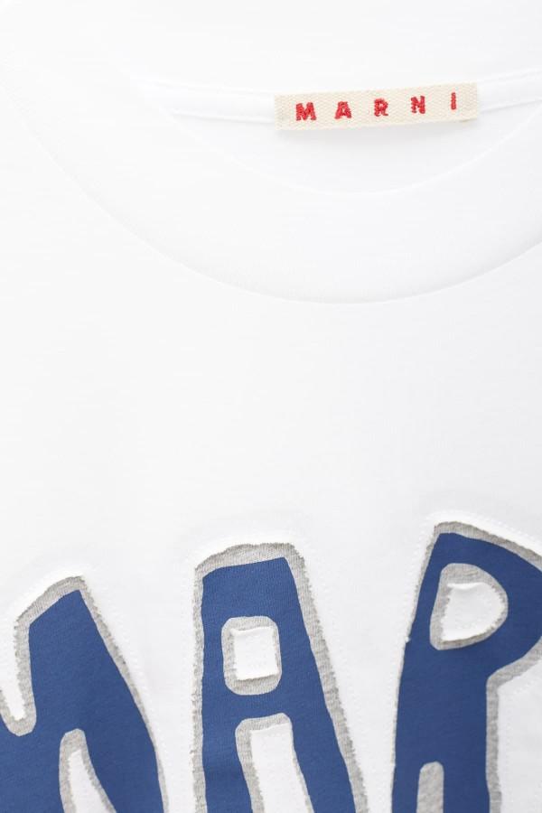 Shop Acne Studios Honey Yellow Face Nash T-Shirt