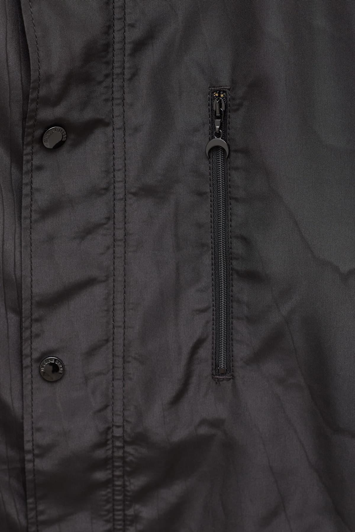 Shop Casablanca White Aristotle Denim Sherpa Jacket