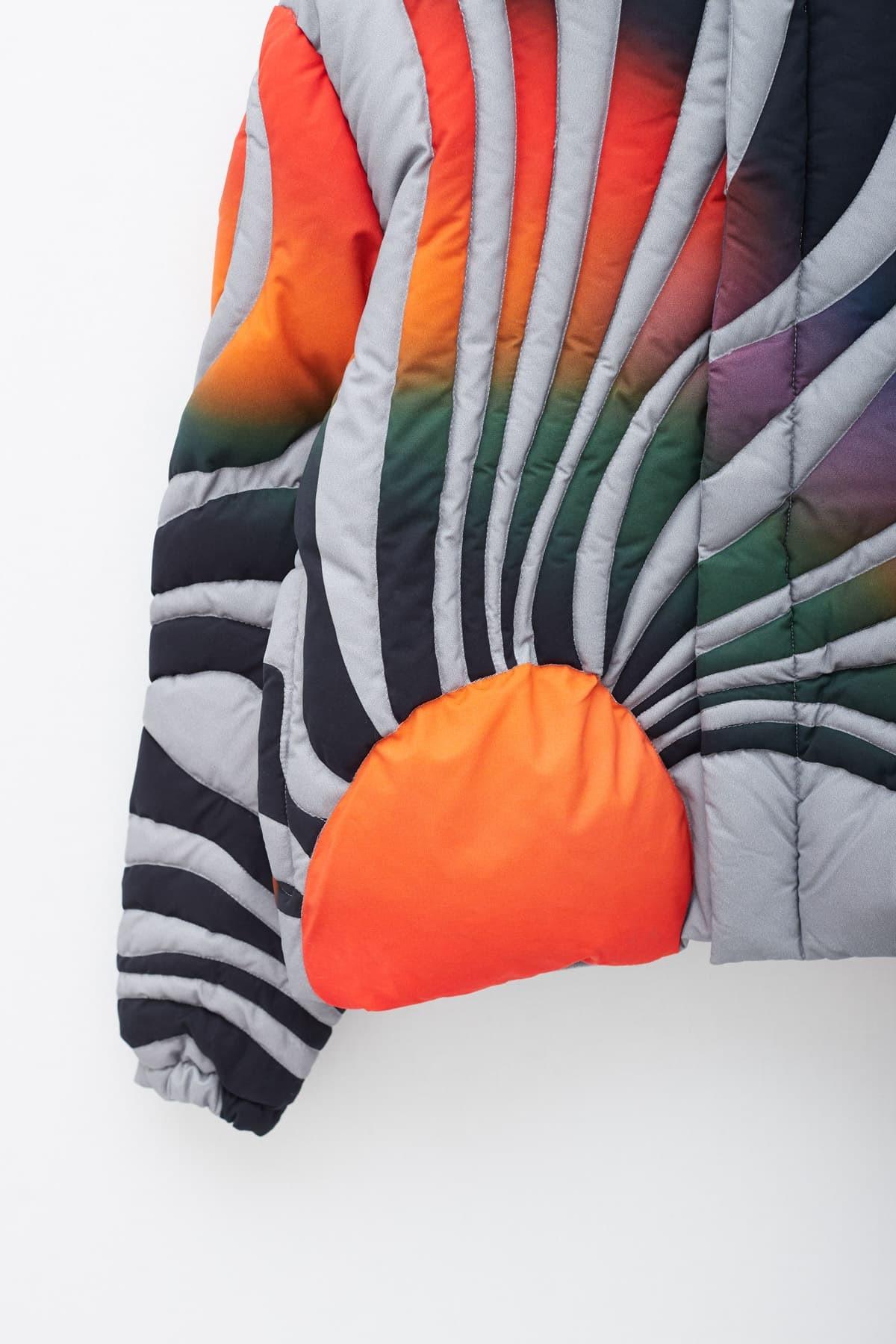 Shop Maison Kitsuné Black Varsity Fox T-Shirt