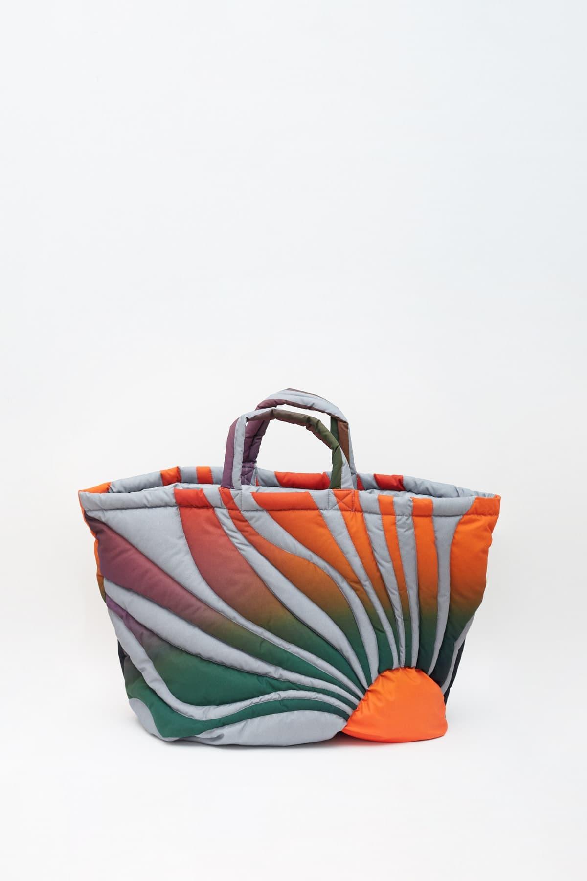 Acne Studios Cognac Brown Extorr Logo Label T-Shirt