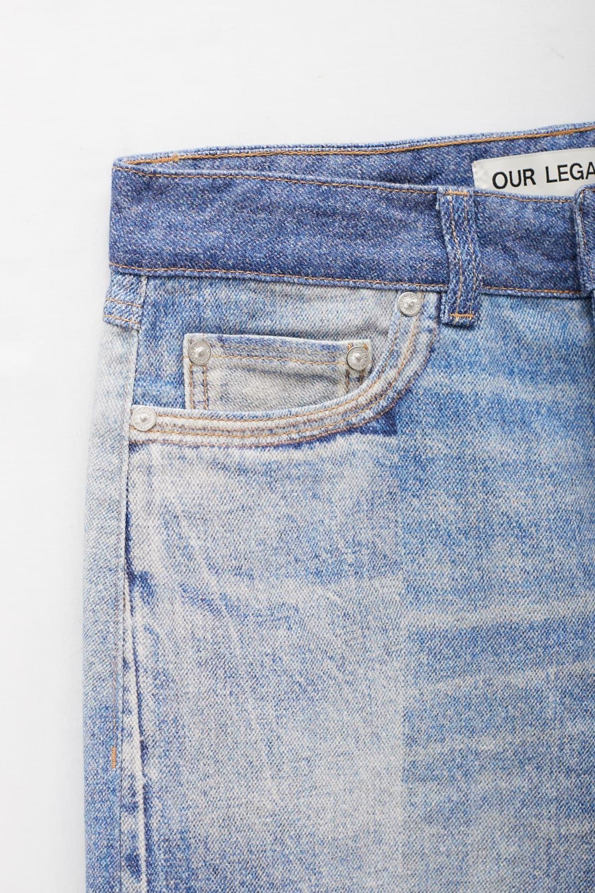 Acne Studios Dusty Blue Satinka Fluid Satin Shirt