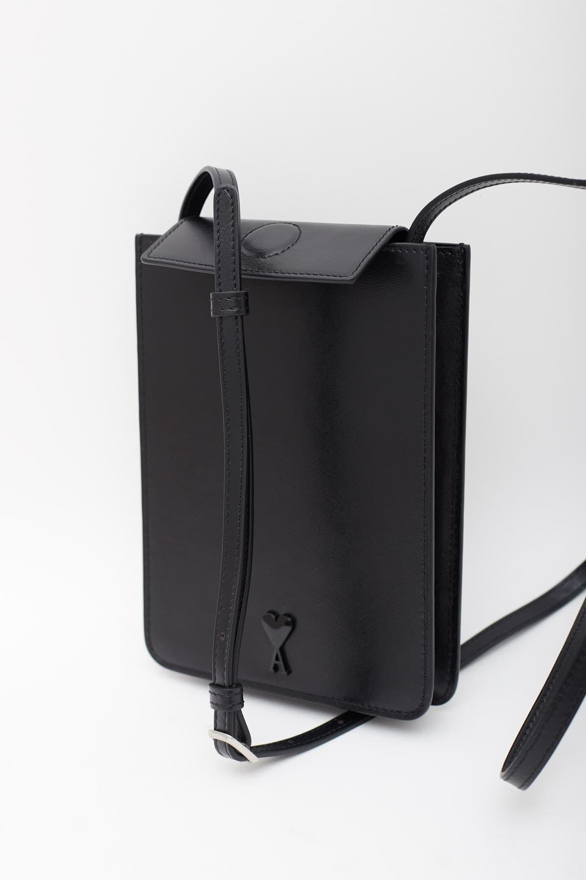 RASSVET Black Patch Short Trousers PACC8P002