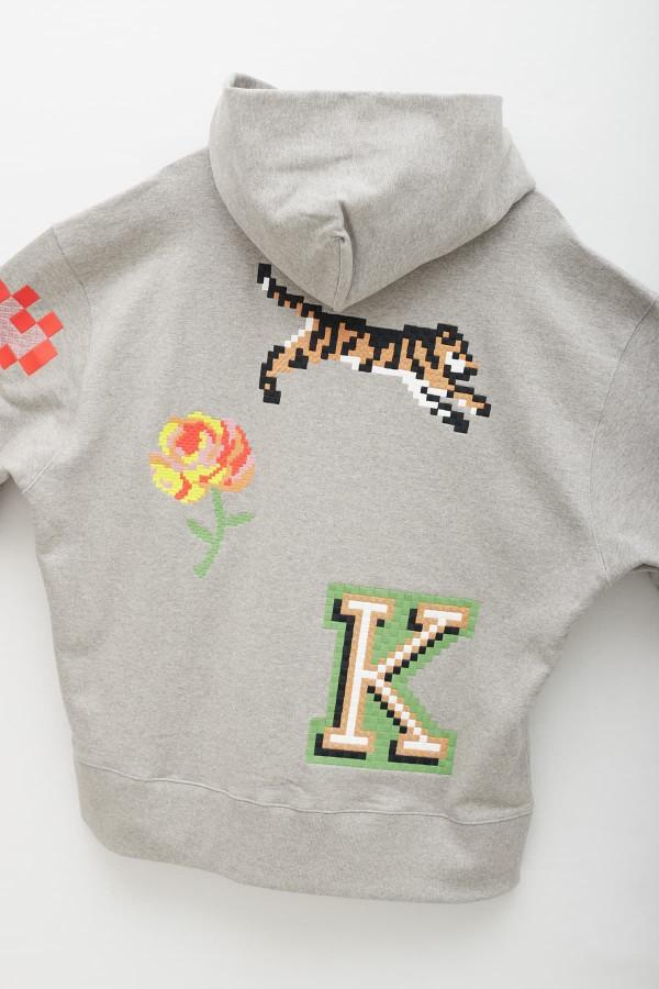 Aries Green Striped Temple T-Shirt