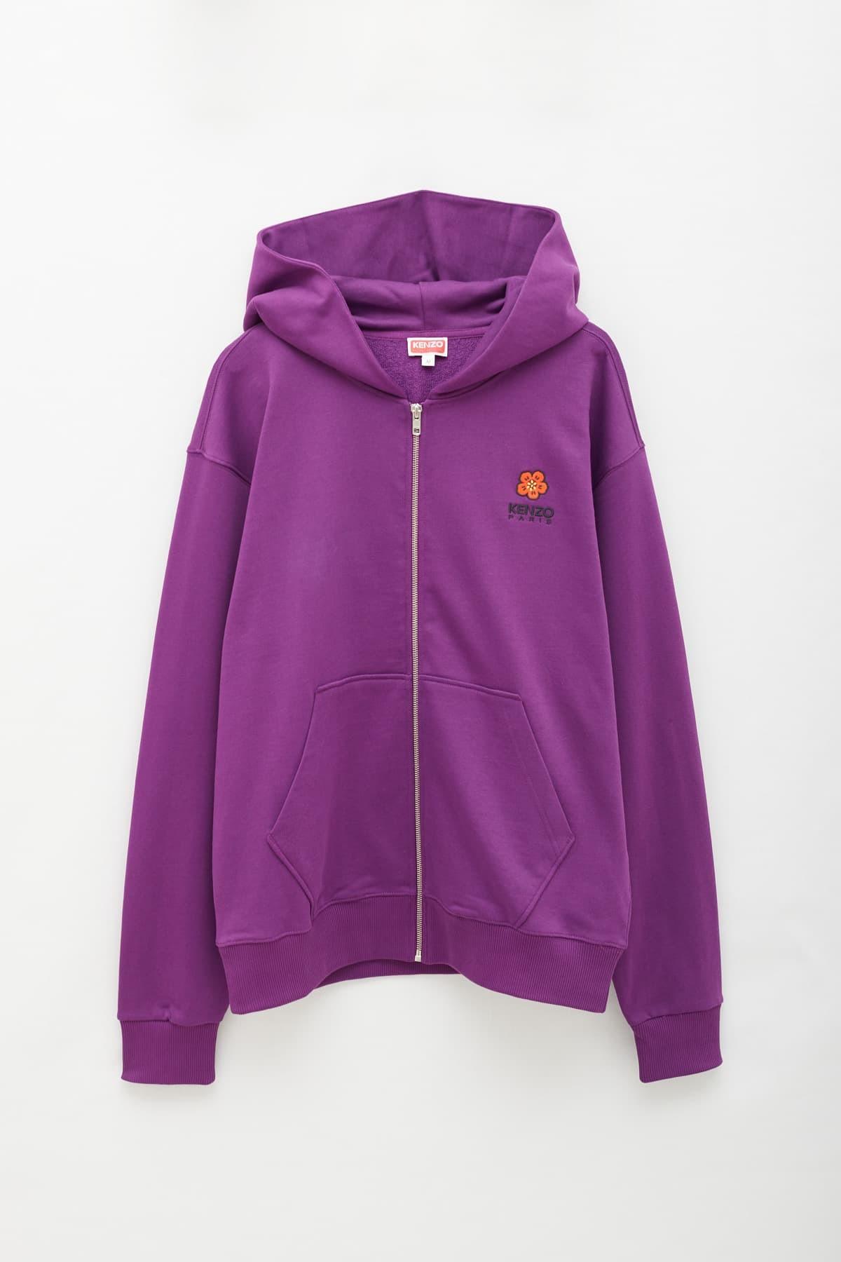 Shop Marni Navy Basic Logo Sweatshirt FUMU0074P0