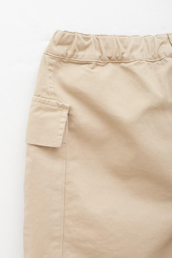 Shop Sunnei Off White MInt Stripes Pocket SS Shirt