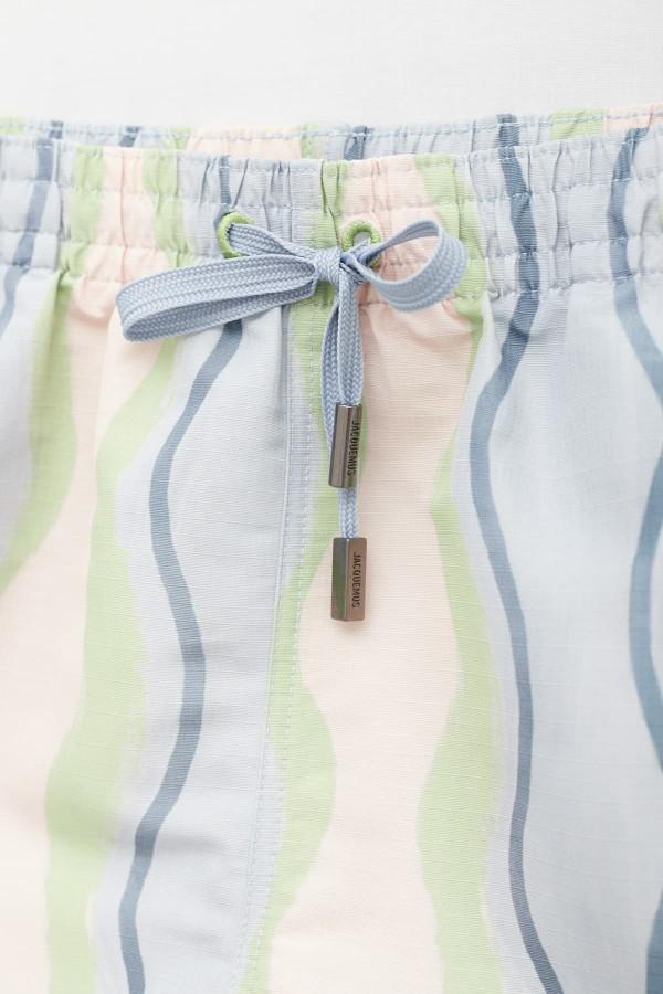 Shop Sunnei Off White Mint Short Trouser