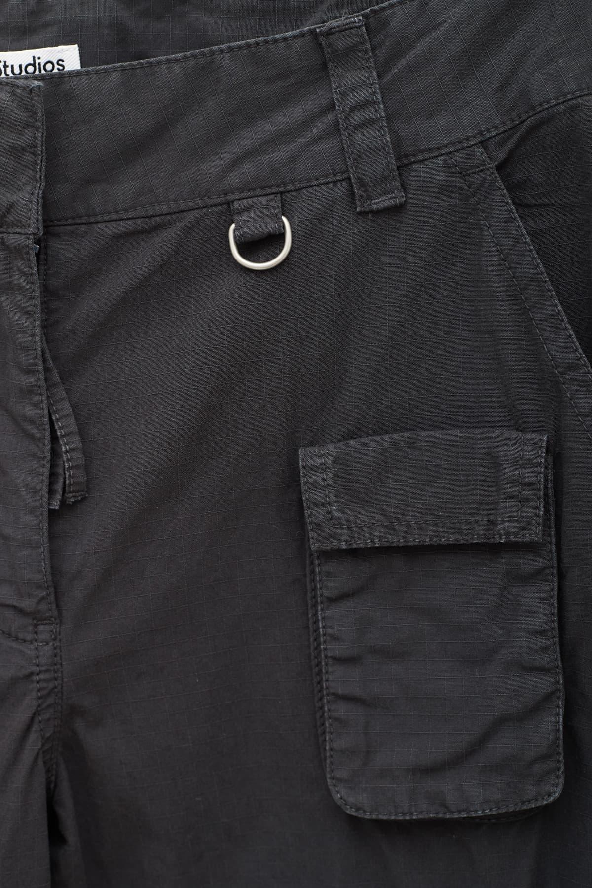 Comprar Acne Studios Black Square Toe SHOE000470 Loafer Shoes