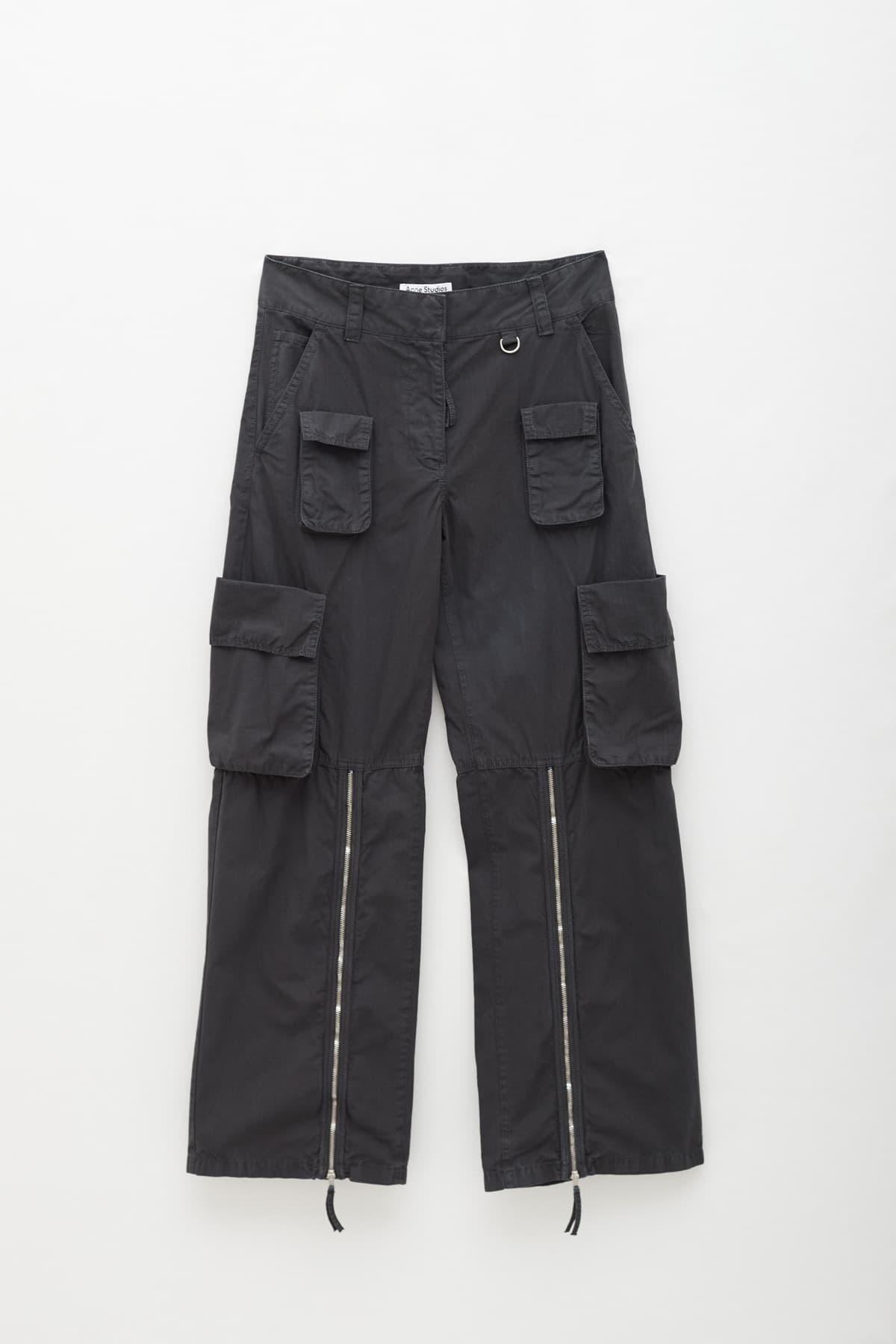 Shop Acne Studios Black Laether Ankle SHOE000471 Boots