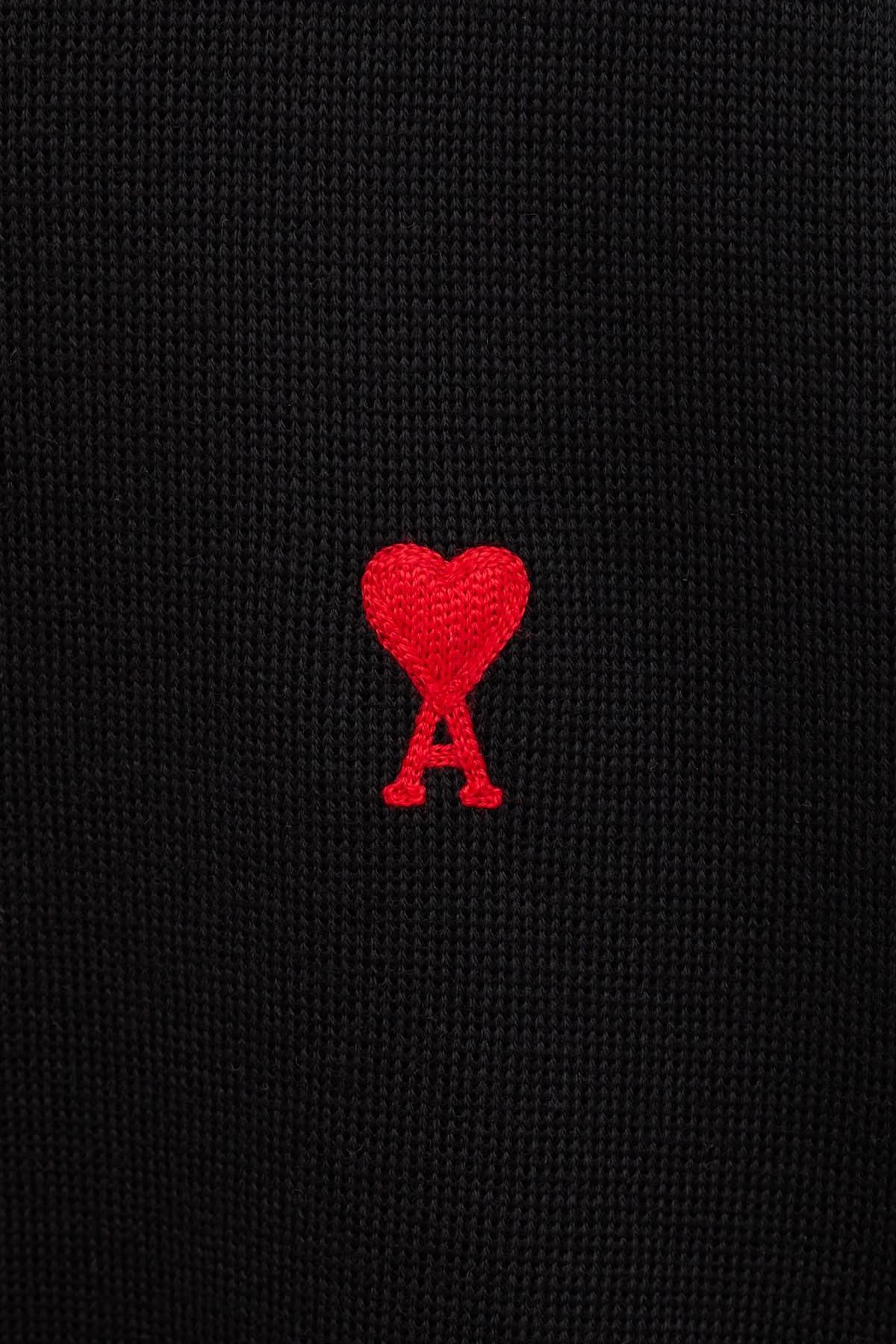 Comprar AMI Black Ami De Coeur Low Top Sneakers